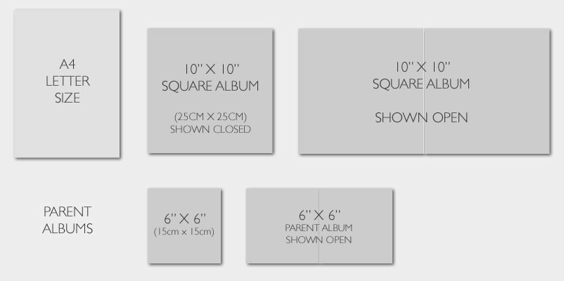 10 X Wedding Albums