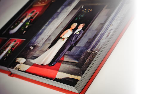 Superb choice of Photo Albums from The Wedding Album Boutique